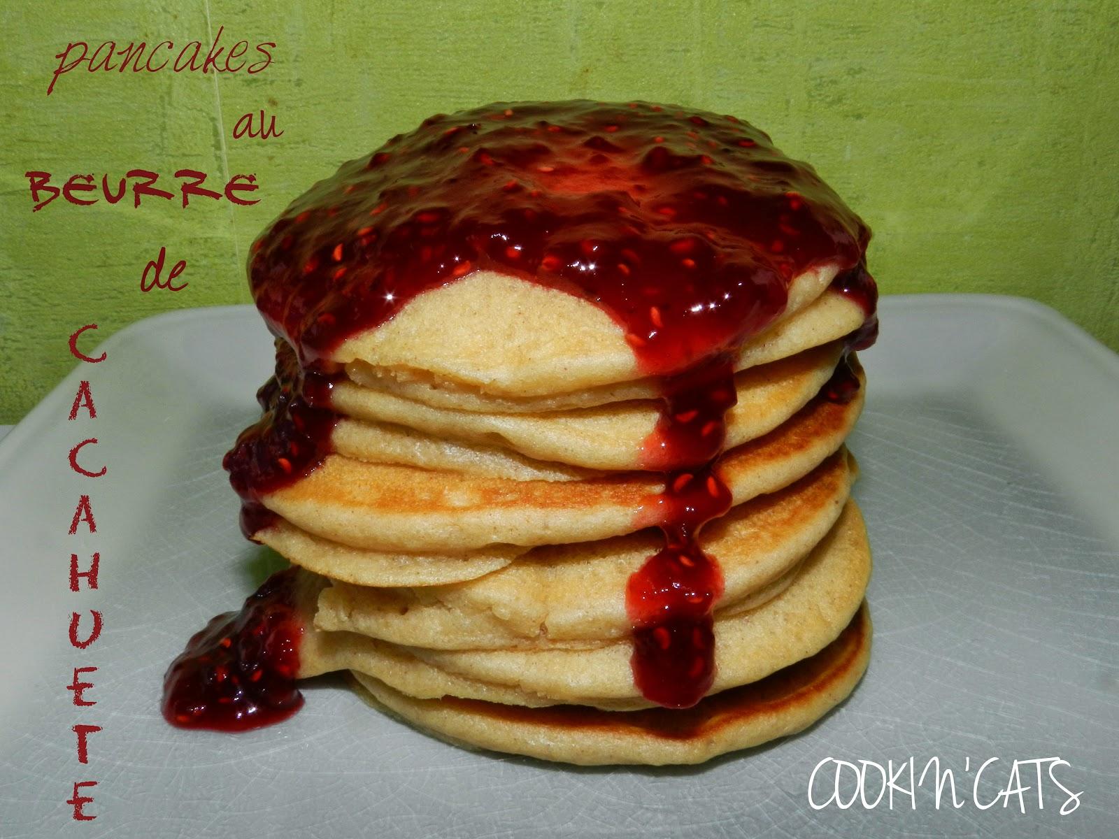 pancakes framboise beurre de cacahuete sans lait sans gluten. Black Bedroom Furniture Sets. Home Design Ideas