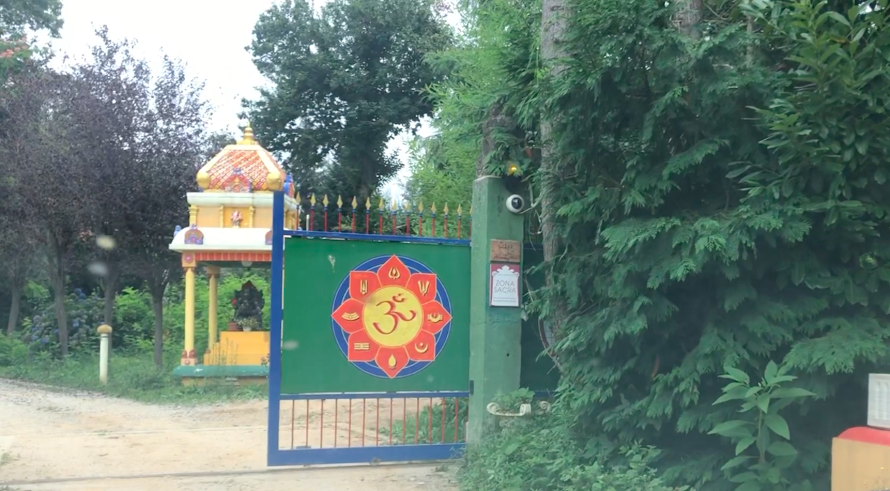 Gitananda Ashram and hindu Temple in Italy