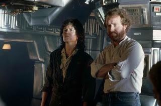 Sigourney Weaver e Ridley Scott