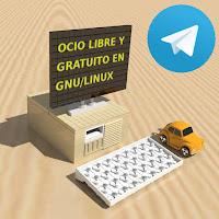 Telegram: Ocio libre y gratuito en GNU/Linux