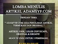 Lomba Menulis Blog 2017