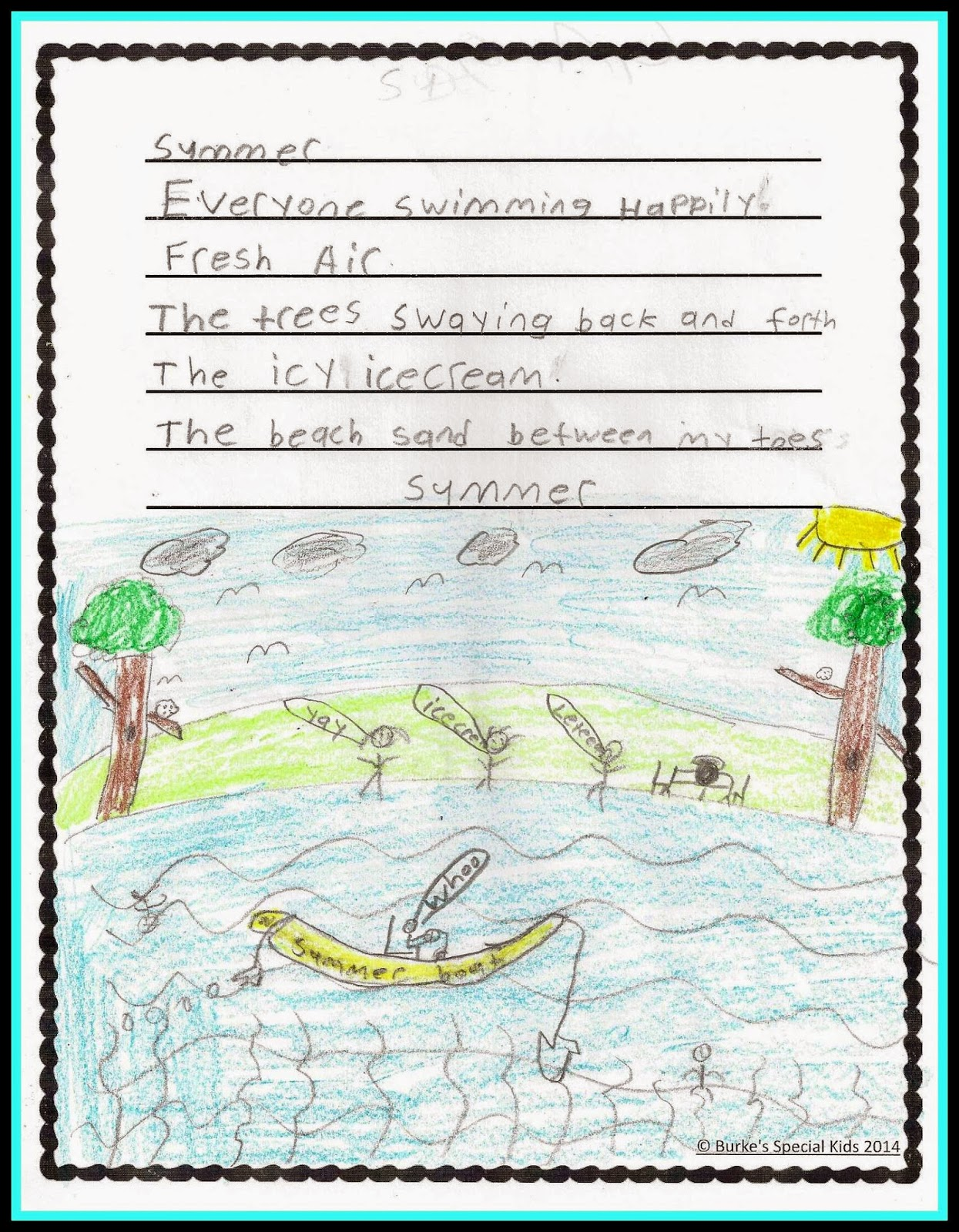 La S With Class Boosting Student Writing Using The Five Senses