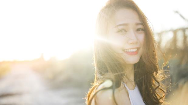 nụ cười của nắng
