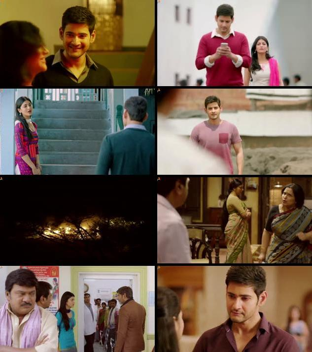 Srimanthudu 2015 UNCUT Dual Audio Hindi 480p HDRip