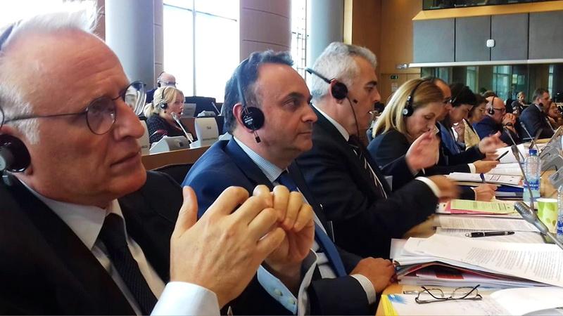 Παρέμβαση Σταύρου Κελέτση στην Europol στις Βρυξέλλες για το μεταναστευτικό