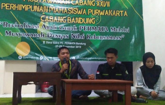 Revitalisasi Arah Gerak, PERMATA Cabang Bandung menggelar Muscab