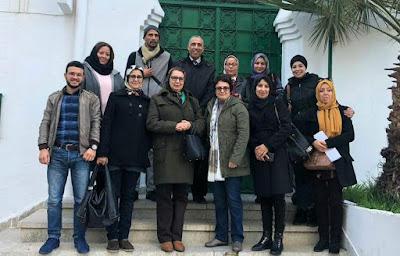 الجمعية المغربية لمدرسي اللغة الفرنسية - تجديد الفرع الإقليمي بتطوان