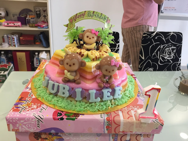 monkey jelly cake