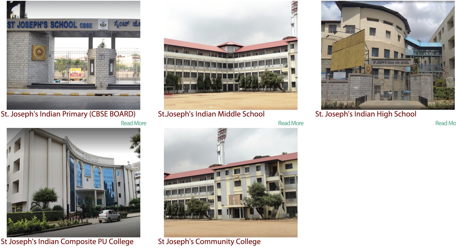 St. Joseph's Indian Institutions (KJES)
