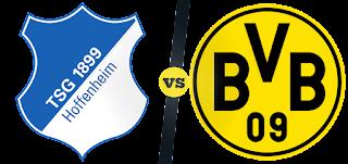 اخبار البوندسليغا موعد توقيت المباراة المرتقبه القويه بين فريق دورتموند وفريق هوفنهايم الدوري الالماني