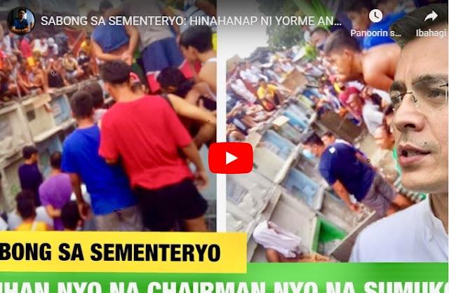 WATCH: Chairman ng Caloocan Mananagot dahil sa Sabong sa Sementeryo