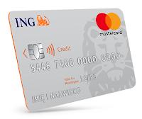 Zyskaj 150 zł z kartą kredytową ING