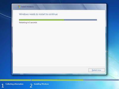 Cara Instal Windows 7 Yang Benar