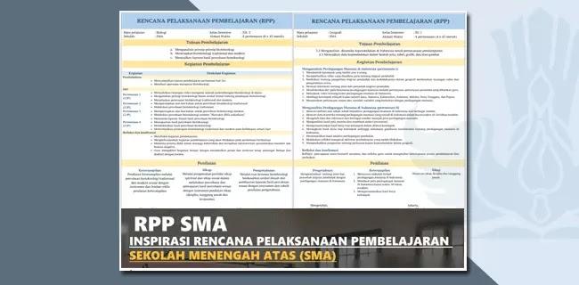Model RPP SMA Format 1 Halaman Resmi dari Pusat Kurikulum KEMENDIKBUD