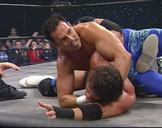WCW Greed 2001 - Chavo Guerrero defended the Cruiserweight title against Shane Helms