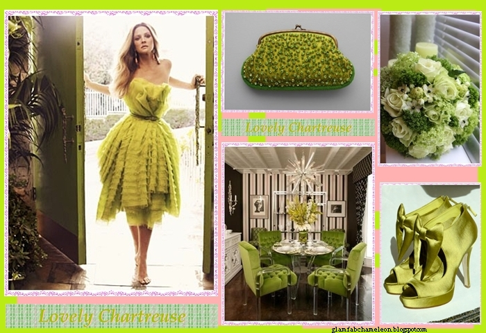 chartreuse green color inspirative photos