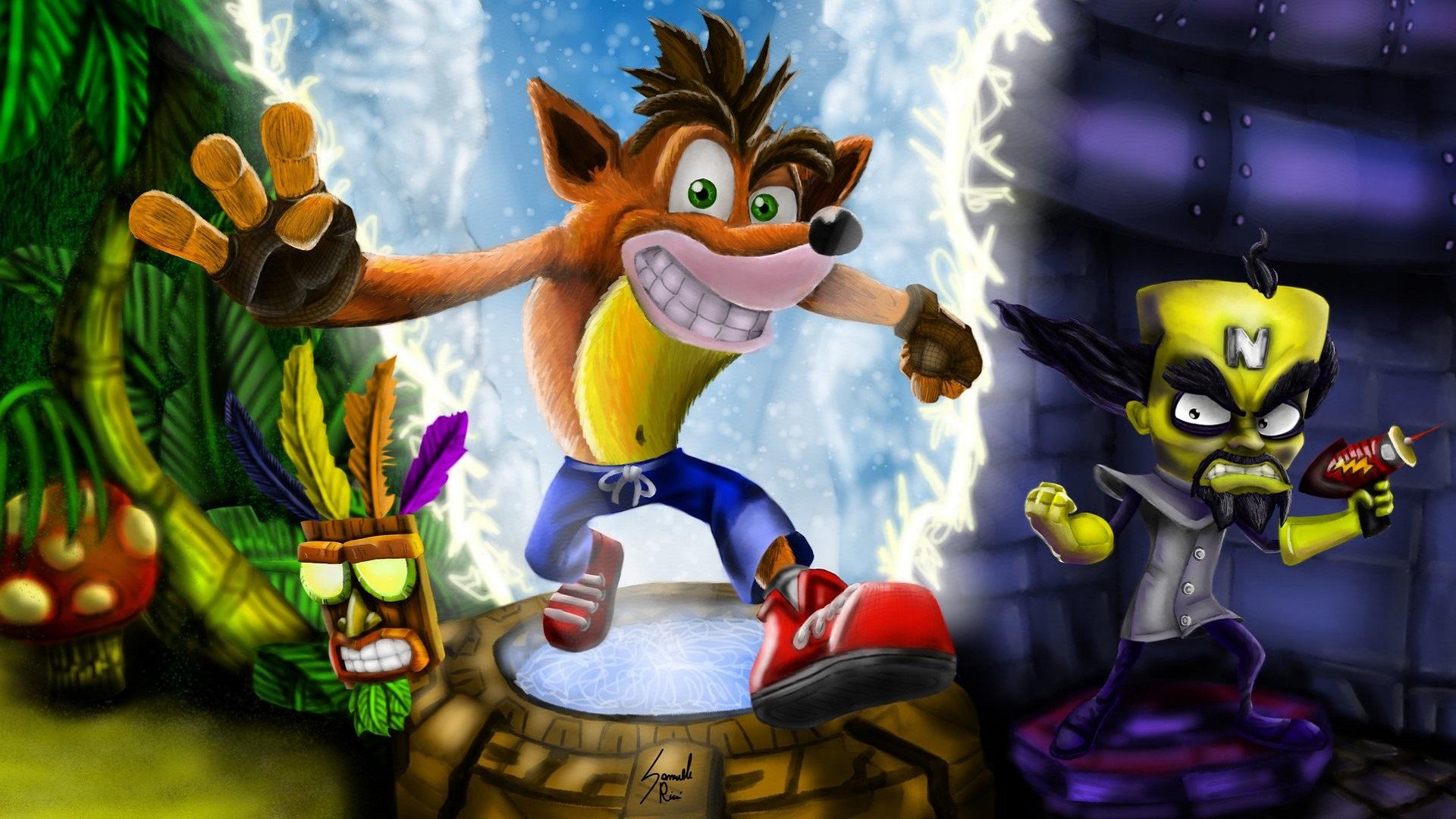 Sonic Wallpaper Hd 3d Crash Bandicoot N Sane Trilogy Wallpapers Read Games
