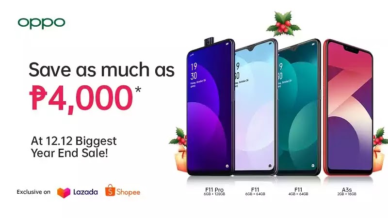 OPPO 12.12 Year End Sale