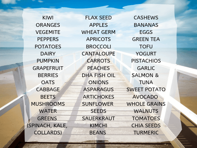 anti-depression foods list for android