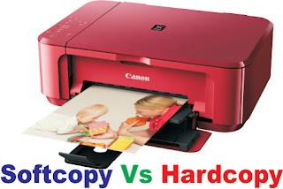 Softcopy and Hardcopy
