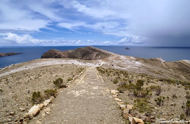 Isla del Sol, area nord