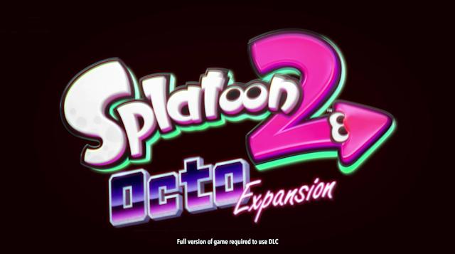 Splatoon 2 Octo Expansion DLC logo