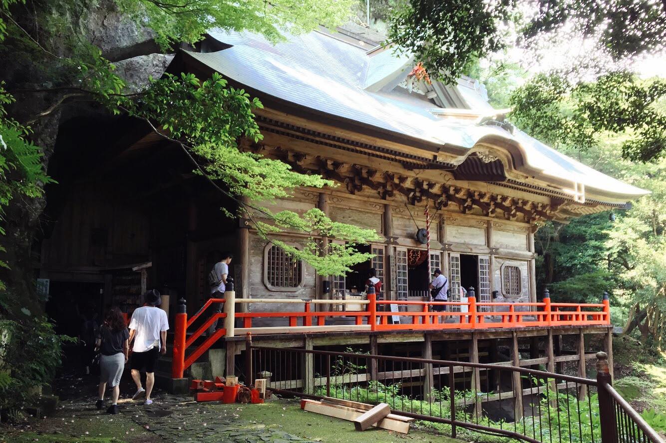 兩子寺 奧之院