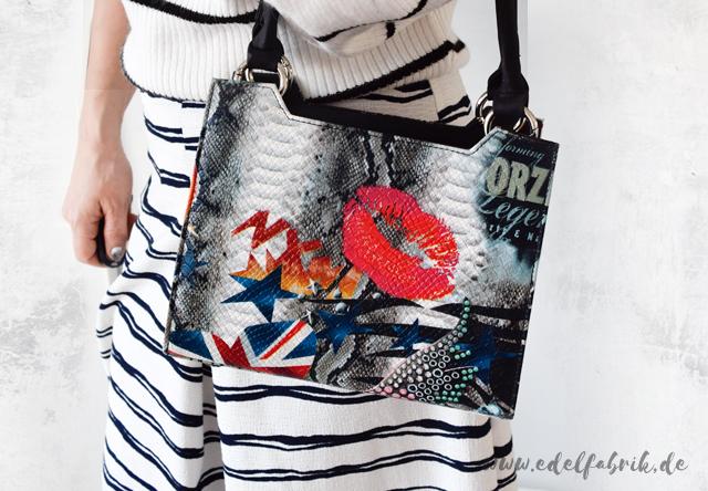 bunte Handtasche von Delieta