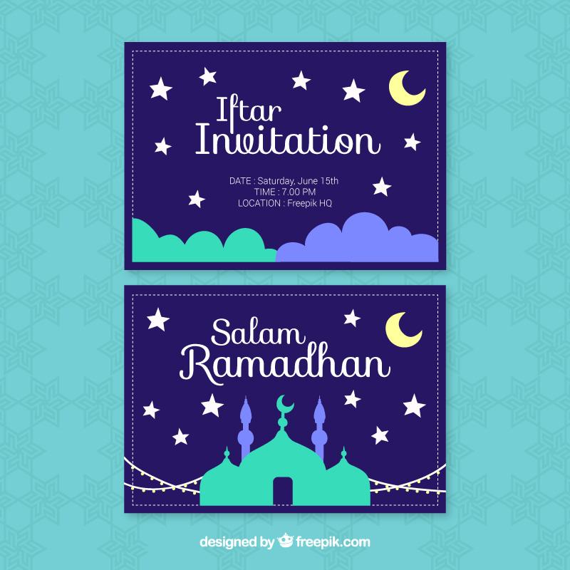 Work related freepik 07 azreenchan ramadhan iftar invitation stopboris Images