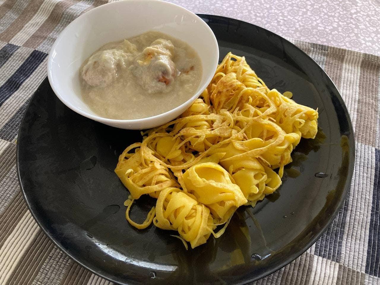 Craving Roti Jala Cicah Serawa Durian, Ayuh Buat