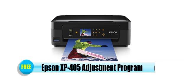 Epson  XP-405 Adjustment Program