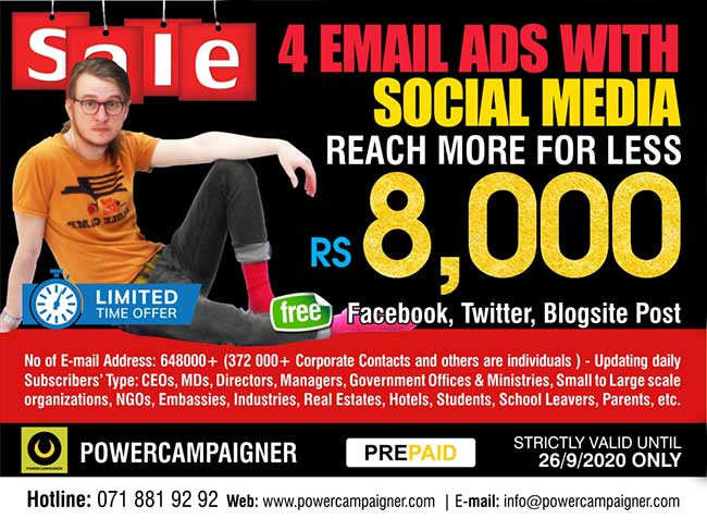 Powercampaigner - 4 ( Four) Email Marketing Campaigns and Social Media
