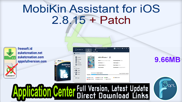 MobiKin Assistant for iOS 2.8.15 + Patch