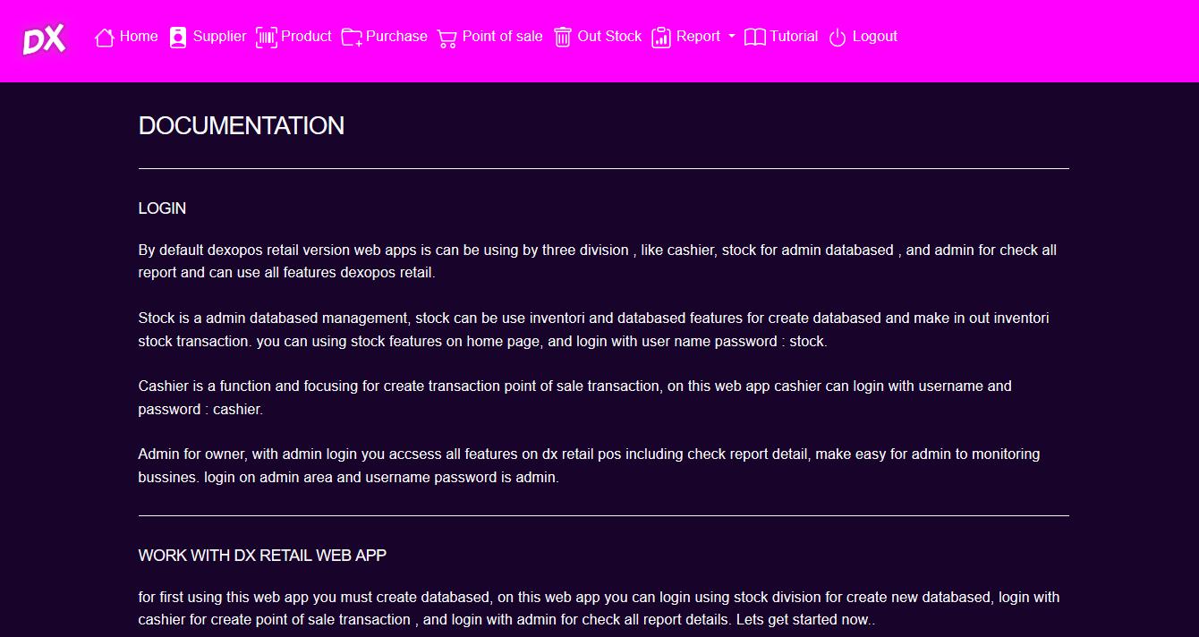 panduan tutorial cara penggunaan aplikasi toko kasir online penjualan kasir