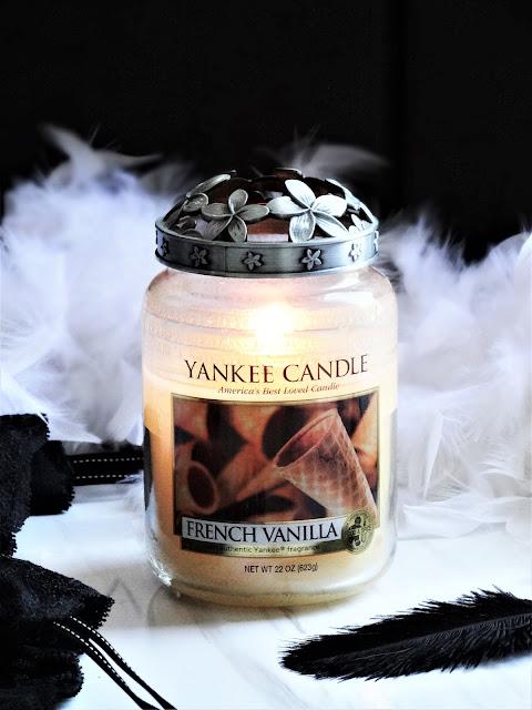 avis French Vanilla Yankee Candle, avis yankee candle, bougie parfumee vanille, edition limitee yankee candle, blog bougie, bougie parfumee, candle review