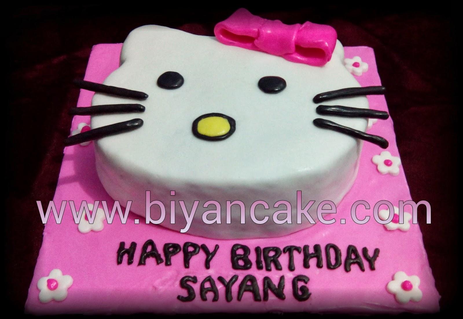 Biyancakes Toko Kue Online Di Bekasi Cake Kepala Hello