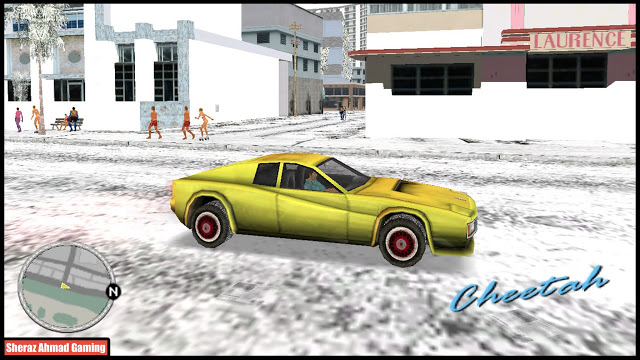 Snow Mod For GTA Vice City - Sheraz Ahmad Gaming