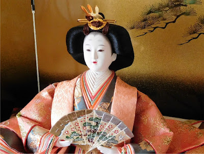 Hina doll Girl's Festival Hokkaido Japan