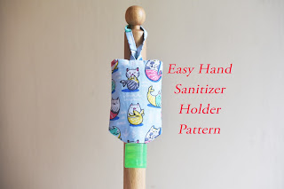 hand sanitizer holder pattern