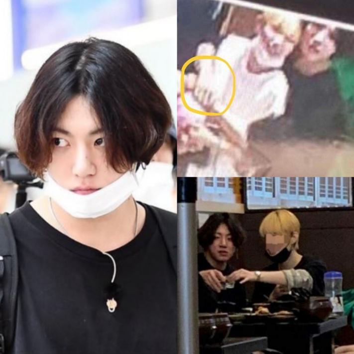 Scandal bts jungkook dating Reporter who