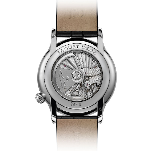 Jaquet-Droz Grande Seconde Off-Centered Onyx Mechanical Automatic Watch