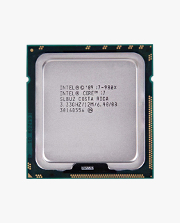 Prosesor Intel Core I7 980X 3.33 GHz