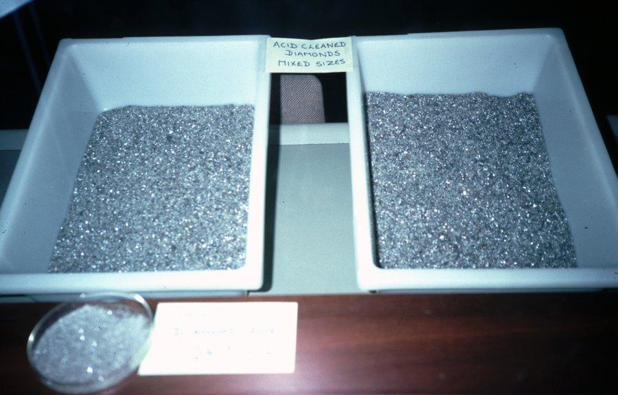 final diamond recovery