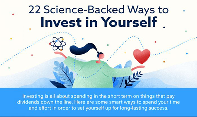 22 Science-Backed Ways to Invest in Yourself #infographic