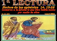 Resultado de imagen para EN aquellos días, llegaron unos judíos de Antioquía y de Iconio y se ganaron a la gente