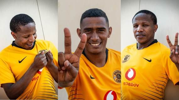 Kaizer Chiefs' recent signings, Lebogang Manyama and Mario Booysen