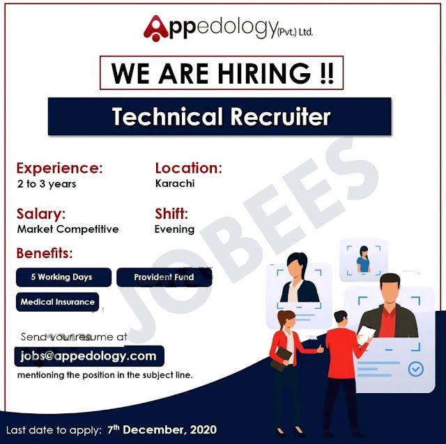 Appedology Pakistan Latest jobs in karachi 2020