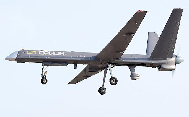 """أول صورة للطائرة بدون طيار الروسية الواعدة """"أريون"""" Orion_uav"""