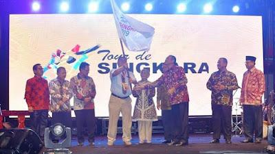 Tour de Singkarak Ke-11 Tahun 2019 Resmi Dimulai