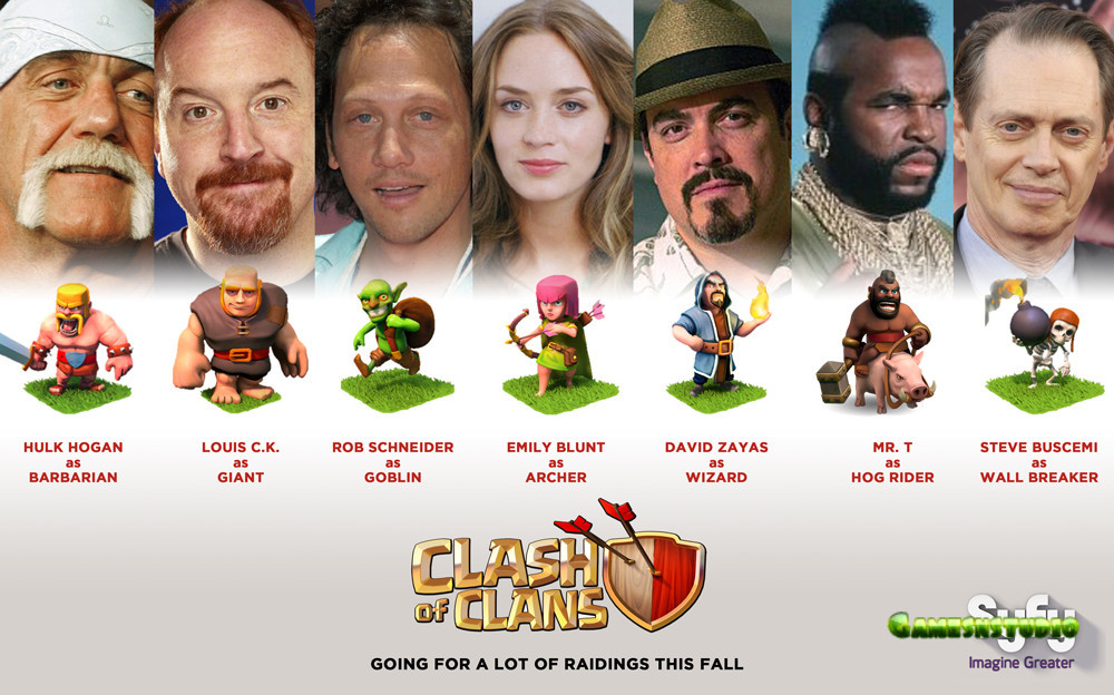Clash of Clans Troops Are Inspired by Real Life Heroes ...